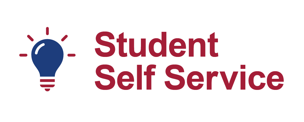 Student Self Service button