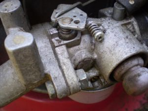 Picture of a small engine.